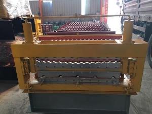 840-850水波纹双层压瓦机