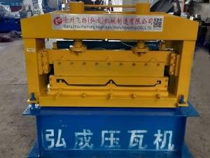 角驰III820型压瓦机